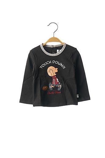 T-shirt manches longues noir ORIGINAL MARINES pour garçon