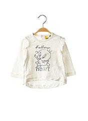 T-shirt manches longues blanc ORIGINAL MARINES pour fille seconde vue