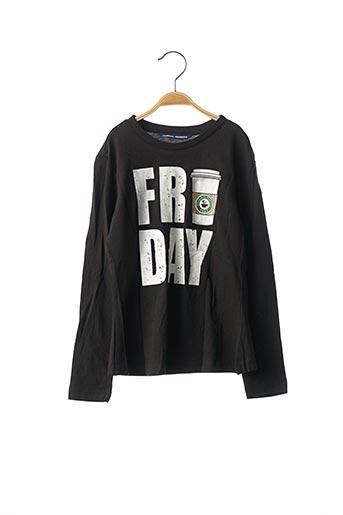 T-shirt manches longues noir ORIGINAL MARINES pour fille