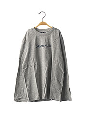 T-shirt manches longues gris ORIGINAL MARINES pour enfant seconde vue