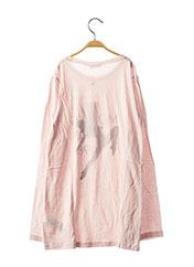 Tunique manches longues rose ORIGINAL MARINES pour fille seconde vue