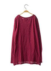 Tunique manches longues rouge ORIGINAL MARINES pour fille seconde vue