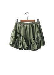Jupe mi-longue vert ORIGINAL MARINES pour fille seconde vue