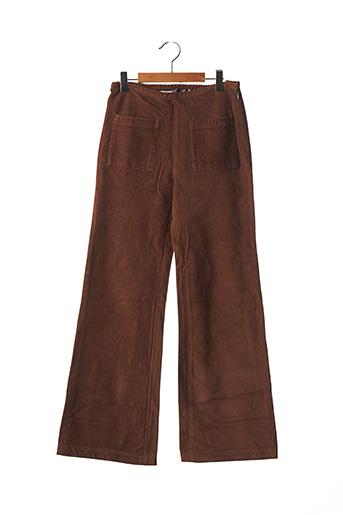 Pantalon casual marron ORIGINAL MARINES pour garçon