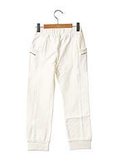Pantalon casual blanc ORIGINAL MARINES pour fille seconde vue