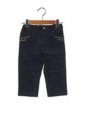 Pantalon casual bleu ORIGINAL MARINES pour fille seconde vue
