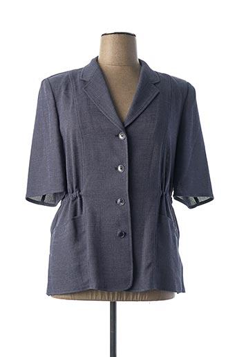 Veste casual bleu FE EDITION pour femme
