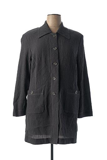 Veste casual gris DUO pour femme