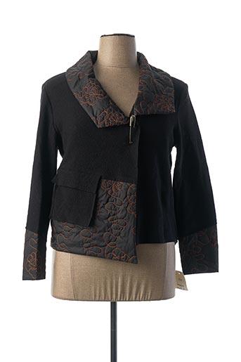 Veste casual noir HUCKE WOMAN pour femme