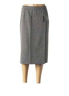 Jupe mi-longue gris KARTING pour femme