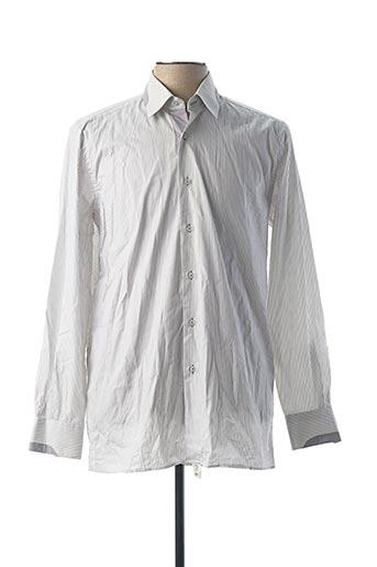 Chemise manches longues gris HORIZON pour homme