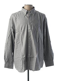 Chemise manches longues gris CAMBRIDGE pour homme
