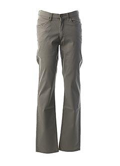 Pantalon casual gris LEE pour homme