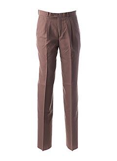Pantalon casual violet LUC SAINT ALBAN pour homme