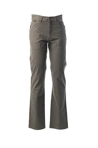 Pantalon casual gris WRANGLER pour homme
