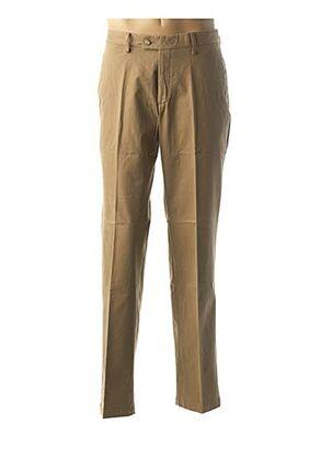 Pantalon casual blanc COSSERAT pour homme