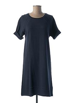 Robe mi-longue bleu EQUATION pour femme
