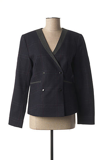 Veste casual bleu CYRILLUS pour femme