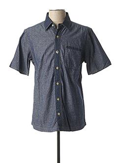 Chemise manches courtes bleu REDSKINS pour homme