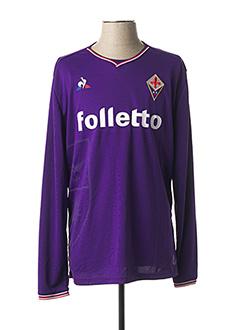 T-shirt manches longues violet LE COQ SPORTIF pour homme