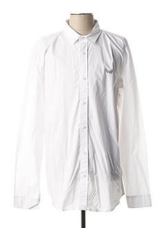 Chemise manches longues blanc KAPORAL pour homme