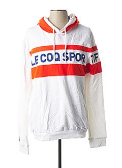 Sweat-shirt orange LE COQ SPORTIF pour homme