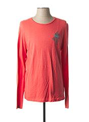 T-shirt manches longues orange MCS pour homme seconde vue