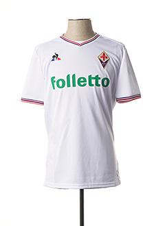 T-shirt manches courtes blanc LE COQ SPORTIF pour homme