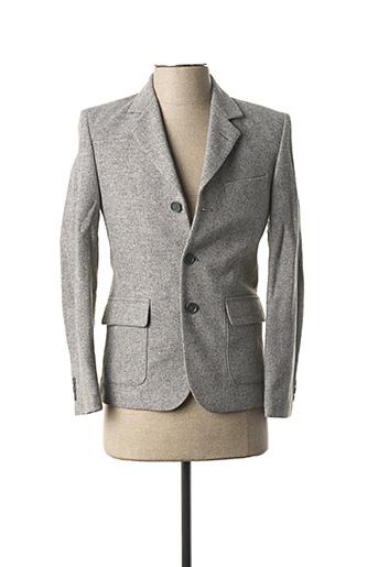 Veste chic / Blazer gris CYRILLUS pour garçon