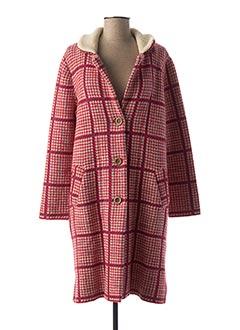Manteau long rouge ALDOMARTINS pour femme