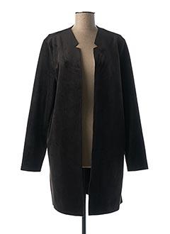 Veste casual noir YAYA pour femme