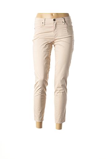 Pantalon 7/8 rose EMMA & CARO pour femme