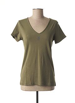 T-shirt manches courtes vert DIPLODOCUS pour femme