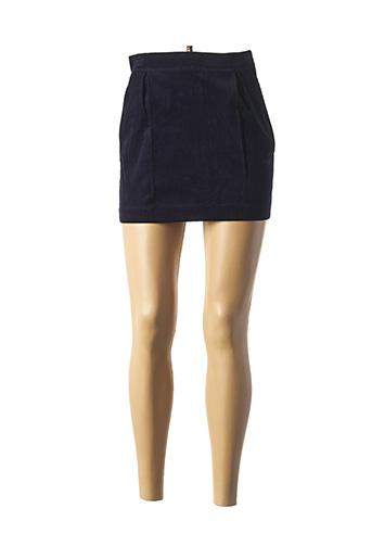 Mini-jupe bleu HARRIS WILSON pour femme