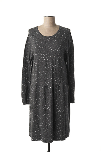 Robe pull gris INDI & COLD pour femme