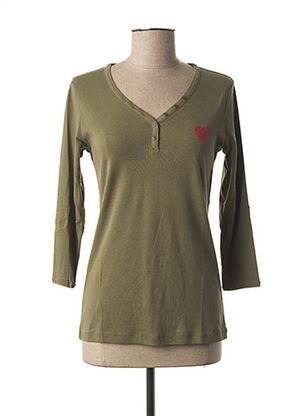 T-shirt manches longues violet DIPLODOCUS pour femme