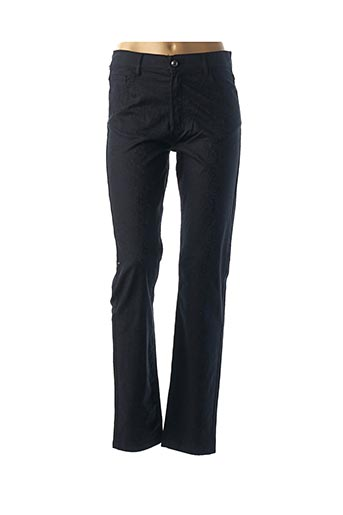 Pantalon casual bleu QUATTRO pour femme
