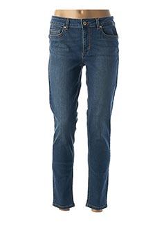 Jeans coupe slim bleu LIU JO pour femme