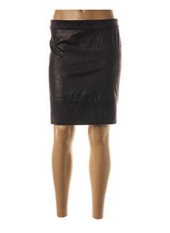 Jupe courte noir BLANC BOHEME pour femme