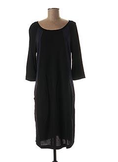 Robe mi-longue bleu BLANC BOHEME pour femme