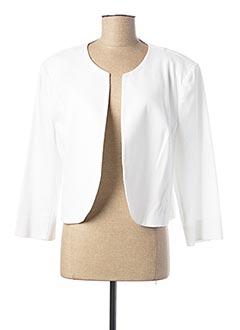 Veste casual blanc DIAMBRE pour femme