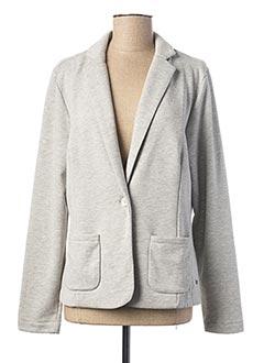 Veste casual gris KATMAI pour femme