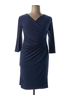Robe mi-longue bleu EGERIE pour femme