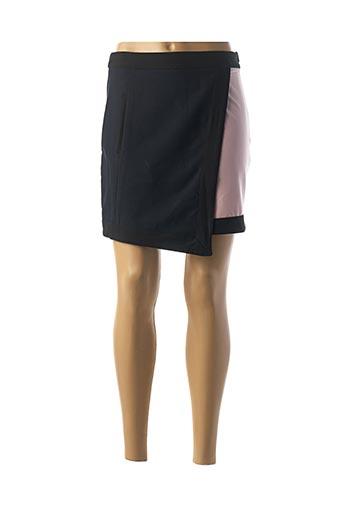 Jupe courte bleu CUBIC pour femme