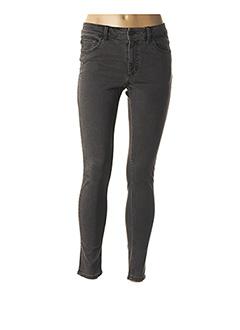 Jeans skinny gris CHEAP MONDAY pour femme