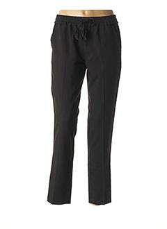 Pantalon casual noir GRACE & MILA pour femme
