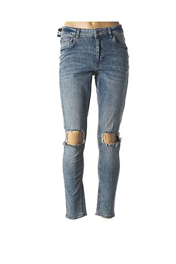 Jeans skinny bleu CHEAP MONDAY pour femme