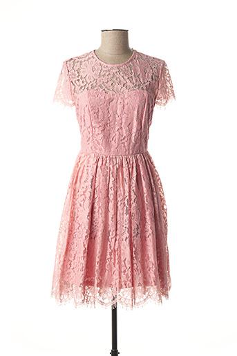 Robe mi-longue rose GLAMOROUS pour femme