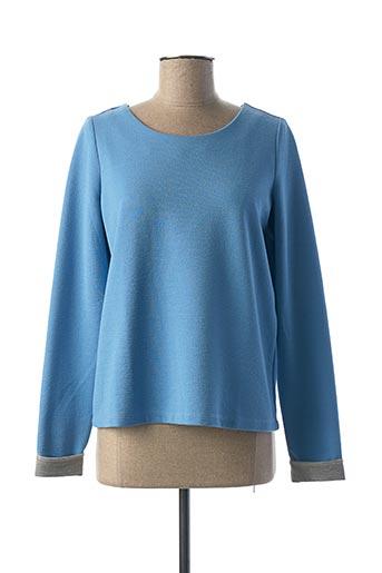 Top bleu VILA pour femme