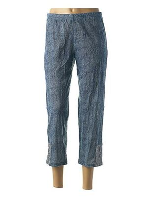 Pantalon 7/8 bleu MULTIPLES pour femme